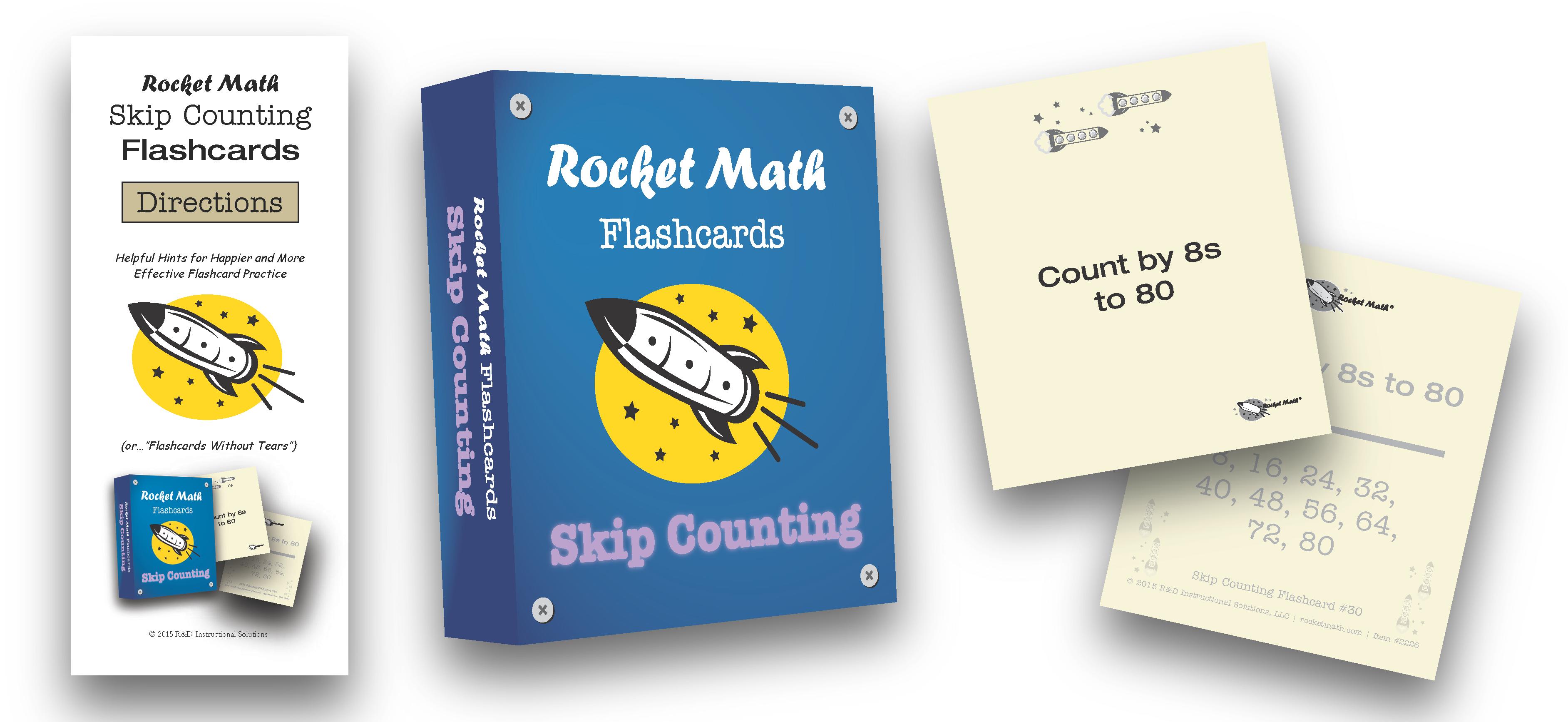Multiplication–Flashcards #2223 | Rocket Math