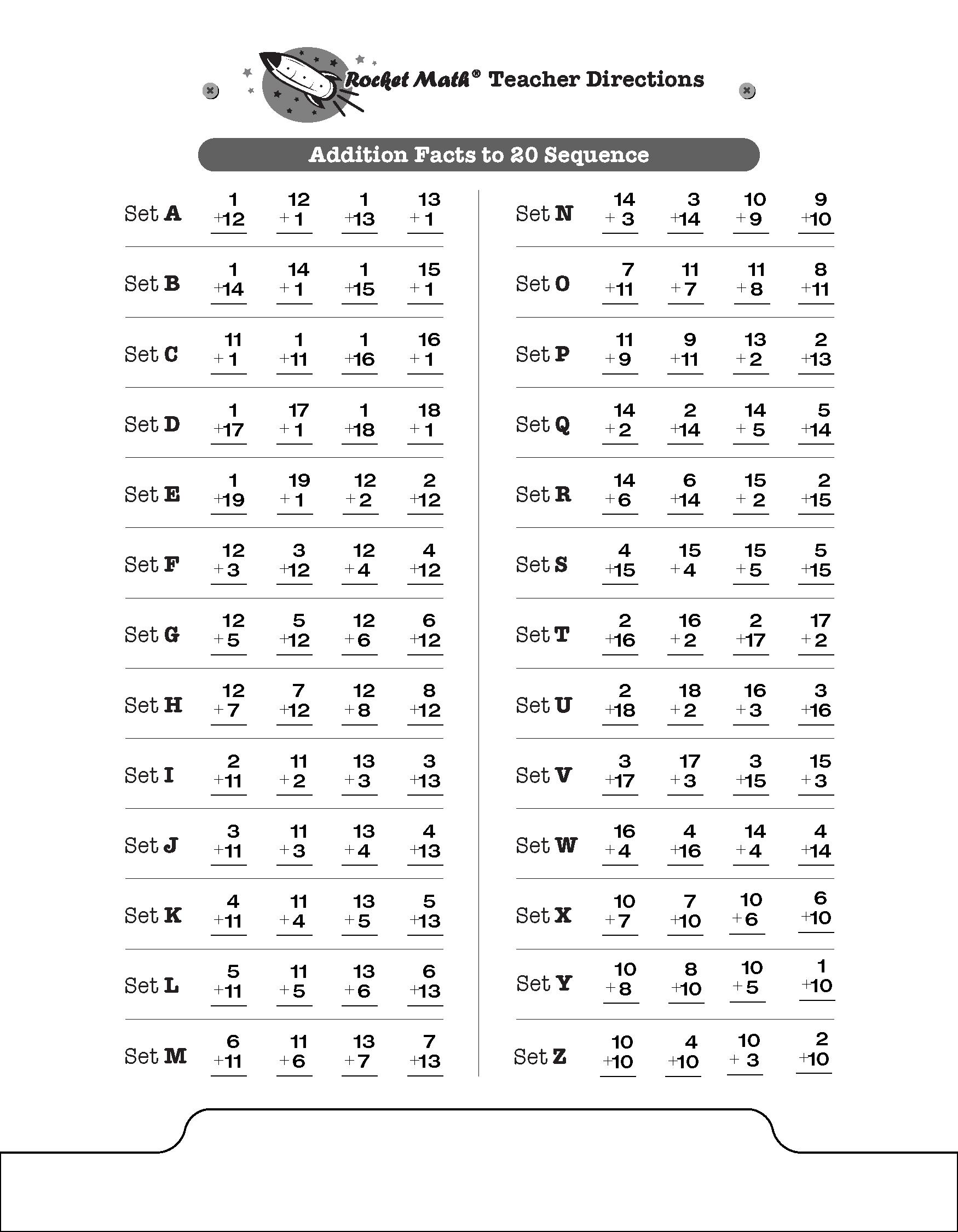 Rocket Math Worksheets Multiplication – Rocket Math Worksheets Multiplication